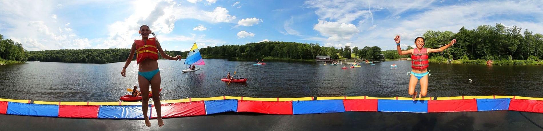 Camp Lohikan Lake